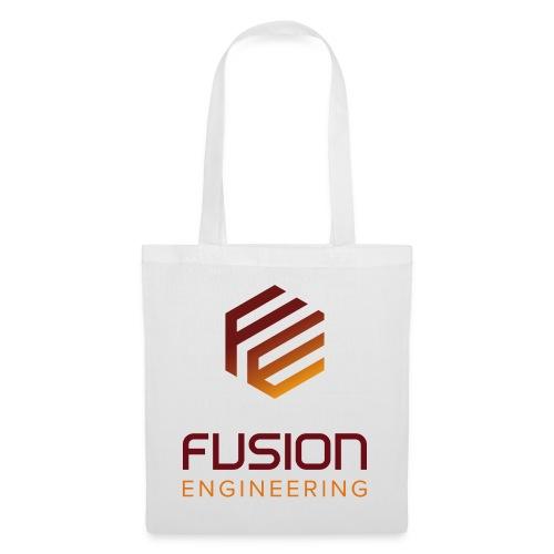Fusion logo in color - Tas van stof
