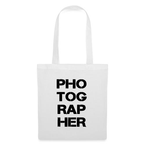 PHOTOGRAPHER - Tote Bag