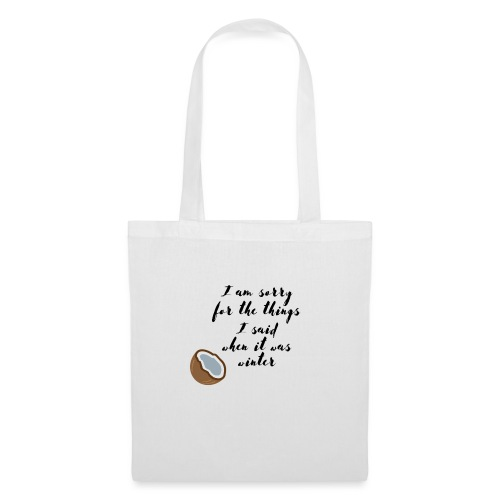 Winter mood Vs summer modd - Tote Bag