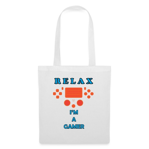 relax i'm a gamer - Tote Bag