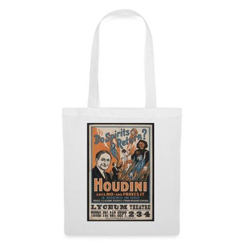 Houdini do spirits return - Stoffbeutel
