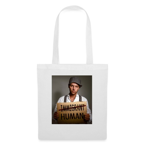 Immigrants are human - Tote Bag