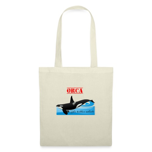 Orca La Balena Assassina Maglietta Uomo Donna 2018 - Borsa di stoffa
