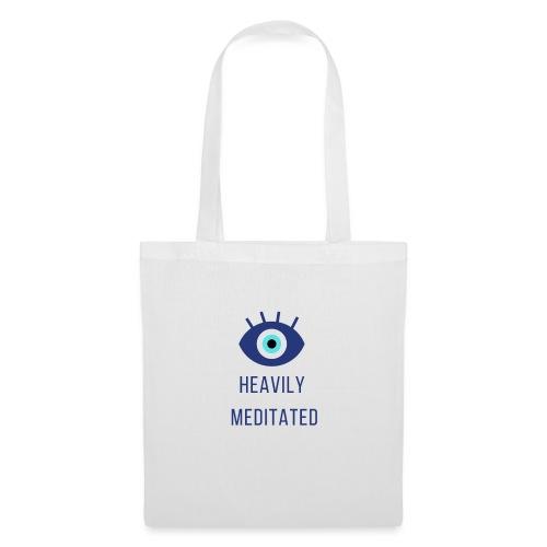 Heavily meditated yoga T-shirt - Tas van stof