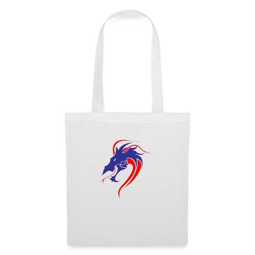 dragon en colère - Sac en tissu