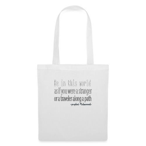 be in the world - Tote Bag