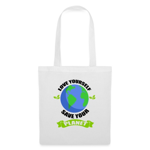 EARTH Tshirt - Tote Bag