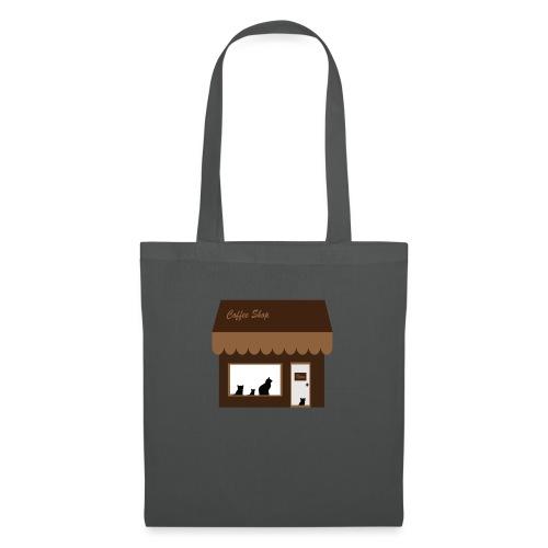 Coffee Shop - Stoffbeutel