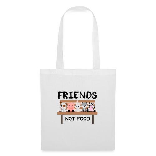Friends Not Food - Stoffbeutel