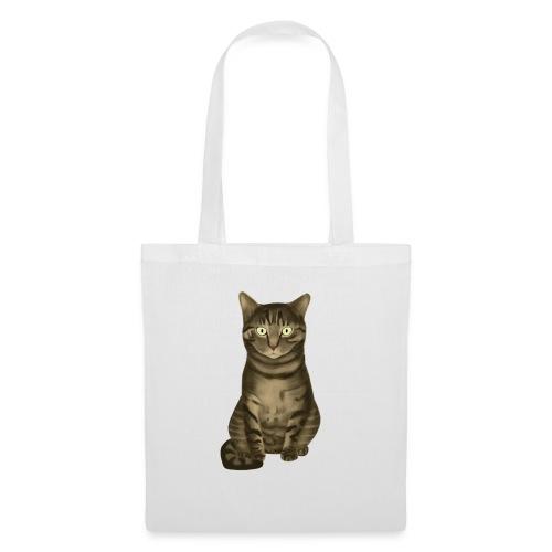 Domestic Brown Tabby Cat - Tas van stof