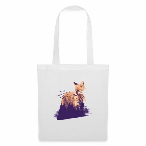 Fox forest - Stoffbeutel