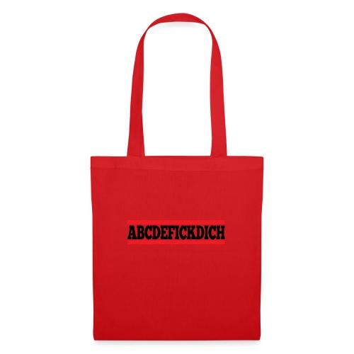 ABCDEFICKDICH - Stoffbeutel