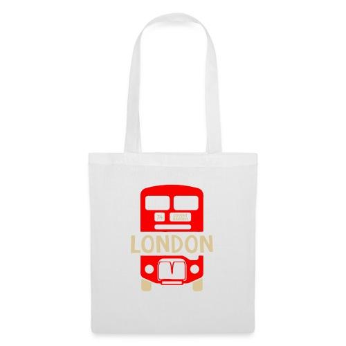 London Bus Roter Doppeldecker London Fan Souvenir - Stoffbeutel