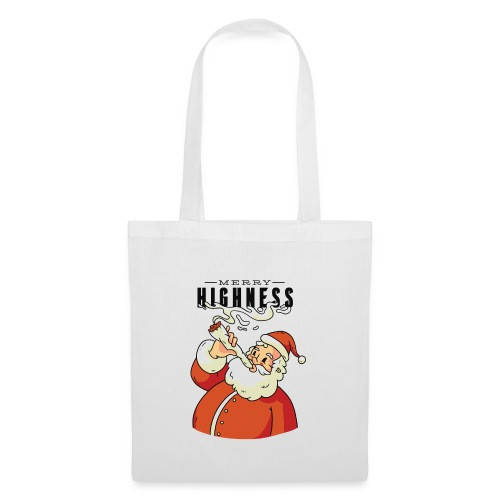 Merry Highness Weihnachtsmann Ugly Xmas - Stoffbeutel
