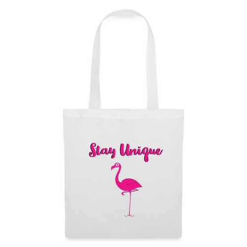 Stay Unique Flamingo - Stoffbeutel
