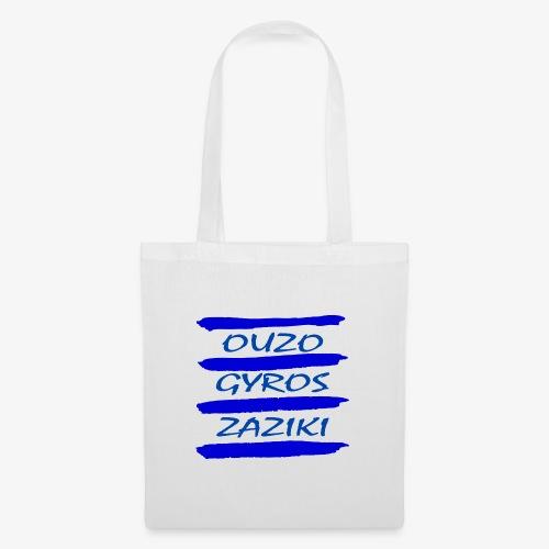 Zaziki Gyros Ouzo - Stoffbeutel
