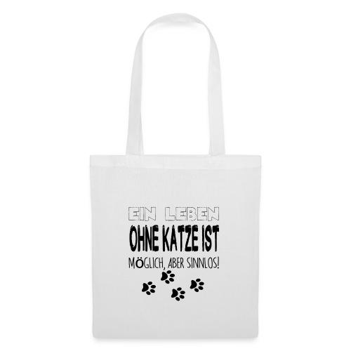 Katzen Katze Geschenk Katzenliebhaber Cat - Stoffbeutel