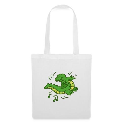dancing crocodile - Tygväska