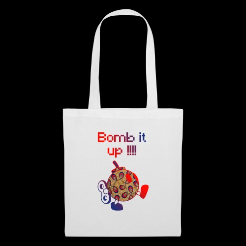 Bomb It Up : Red Power !!! - Tote Bag