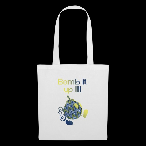 Bomb It Up : Blue Power !!! - Tote Bag