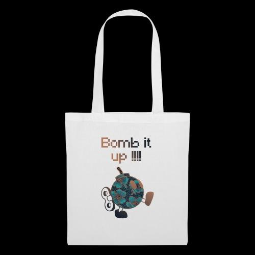 Bomb It Up : Bronze Power !!! - Tote Bag