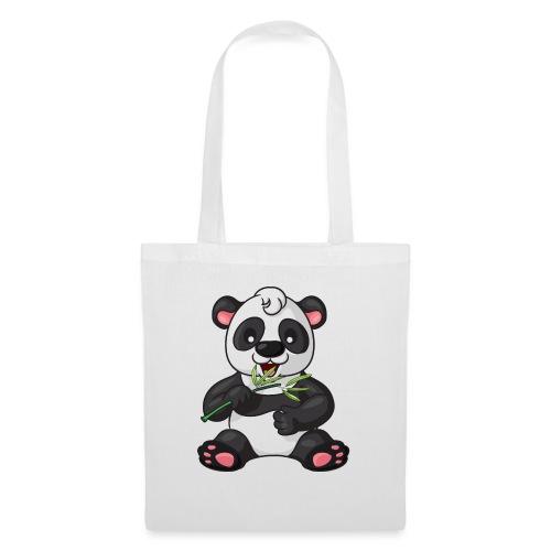 Panda Bambus Comic niedlich - Stoffbeutel