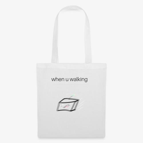 when you walking meme - Tote Bag