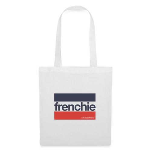 Frenchie Stripes - Französische Bulldogge - Stoffbeutel