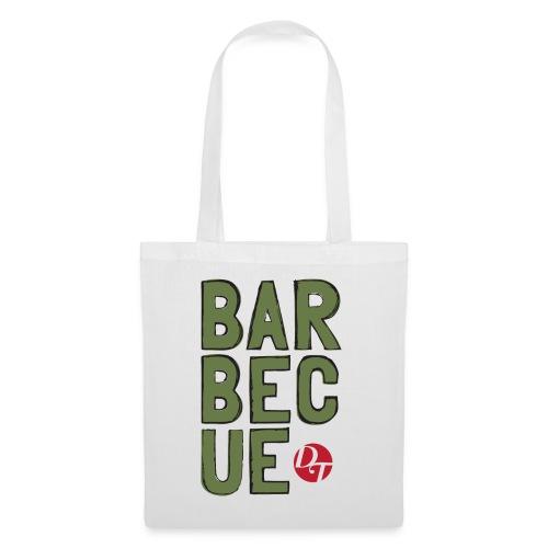 dt barbecue folk sketchsolid towertee 01 - Tote Bag