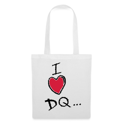 I Heart DQ Logo - Tote Bag
