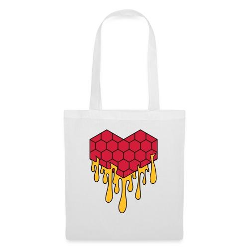 Honey heart cuore miele radeo - Borsa di stoffa