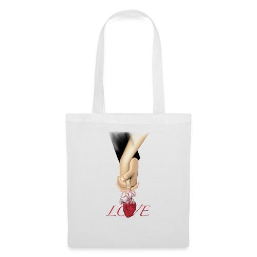 Love hand - Stoffbeutel