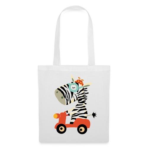 zebra png - Stoffbeutel