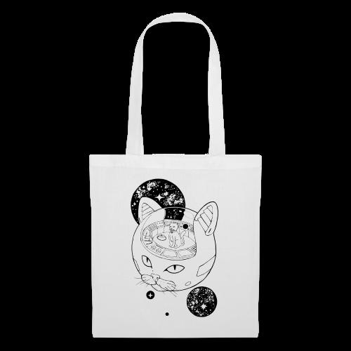 Kosmiczny Kot Imperator - Torba materiałowa