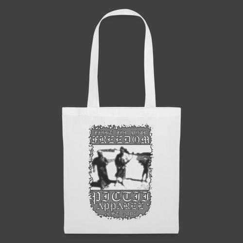 PICTFREE1 - BW - Tote Bag