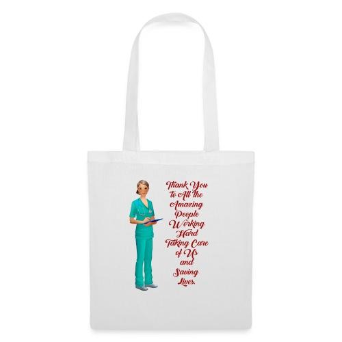 thank you medical, danke an die Medeziner - Stoffbeutel