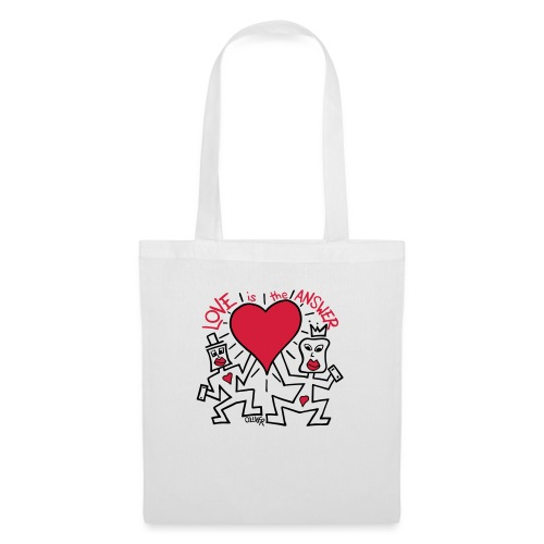 Love is the Answer by Oliver Schibli - Tote Bag