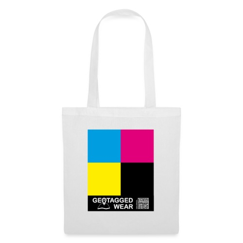 Square CMYK #1 - CMYK Collection - Stoffbeutel