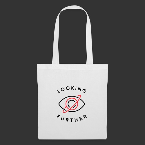 Looking Farther - White - Tote Bag