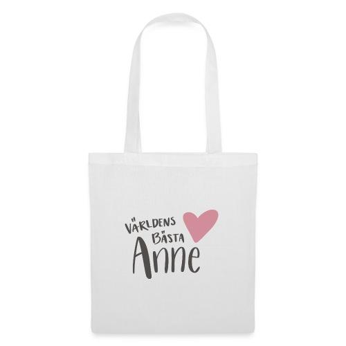 Världens bästa Anne - Tygväska
