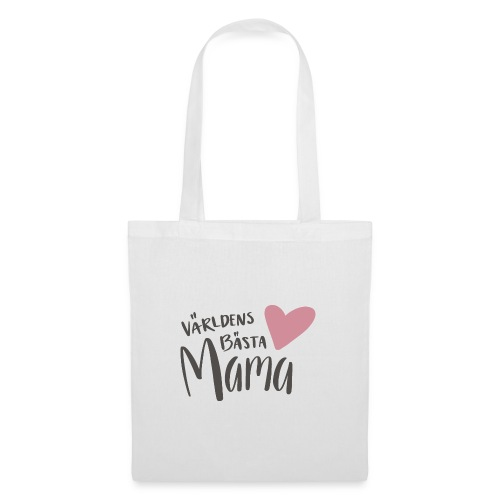 Världens bästa Mama - Tygväska