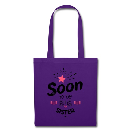 Soon to be big sister - Tote Bag