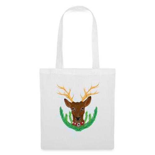 Christmas Deer - Stoffbeutel