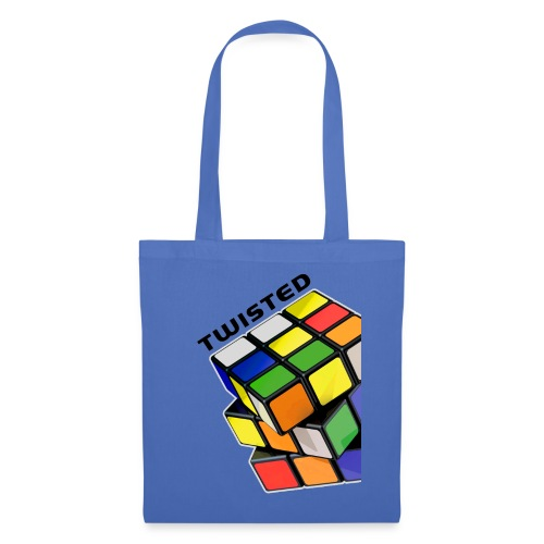 Rubik's Cube Twisted Sides - Tygväska