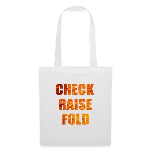 Check Raise Mug - Tote Bag