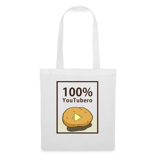 100-_youtubero - Borsa di stoffa