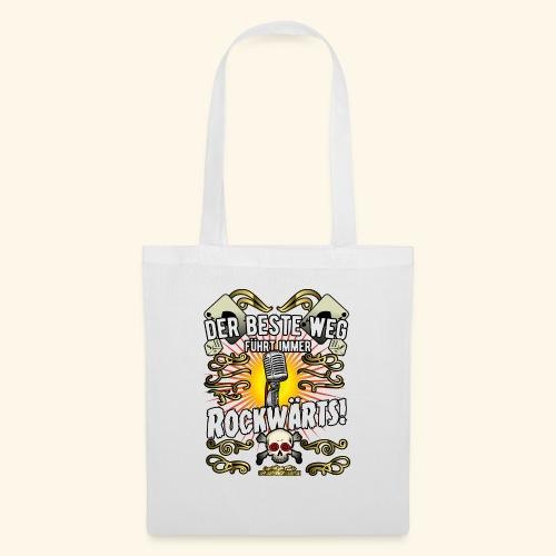 Rock Music Shirt ROCKWÄRTS - Stoffbeutel