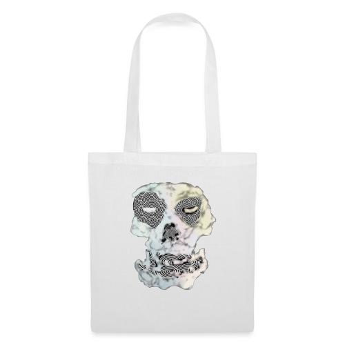 Weird Out Skull - Tygväska