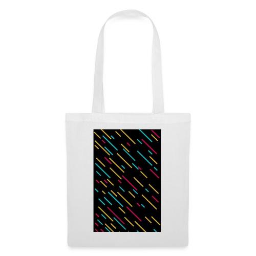 shooting stars (colorful) - Stoffbeutel