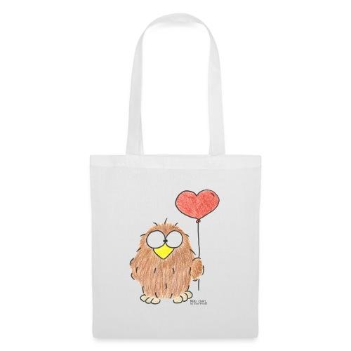 Niki Owl Amor / Amor - Bolsa de tela